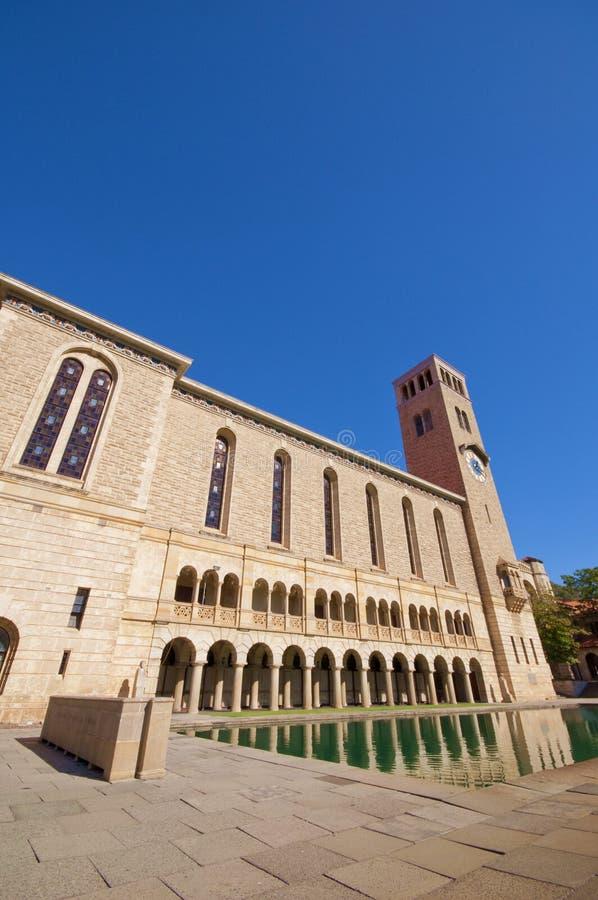 Universiteit van Westelijk Australië stock fotografie
