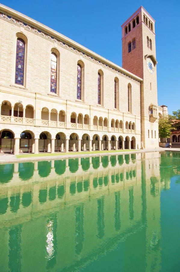 Universiteit van Westelijk Australië royalty-vrije stock foto