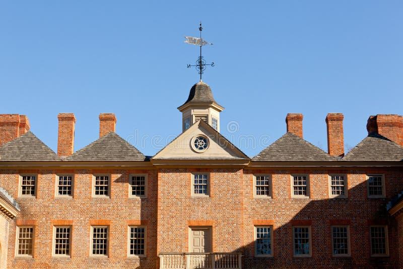 Universiteit van William en Mary stock fotografie