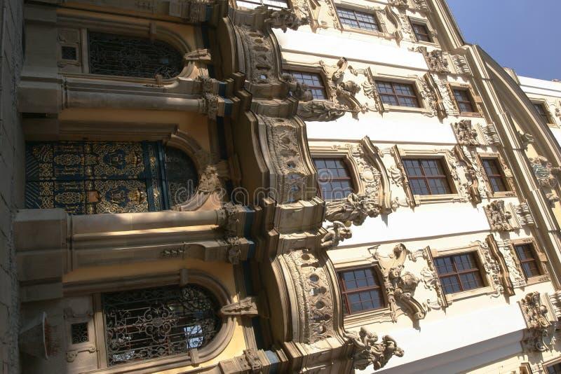 Universiteit van Wroclaw royalty-vrije stock afbeelding