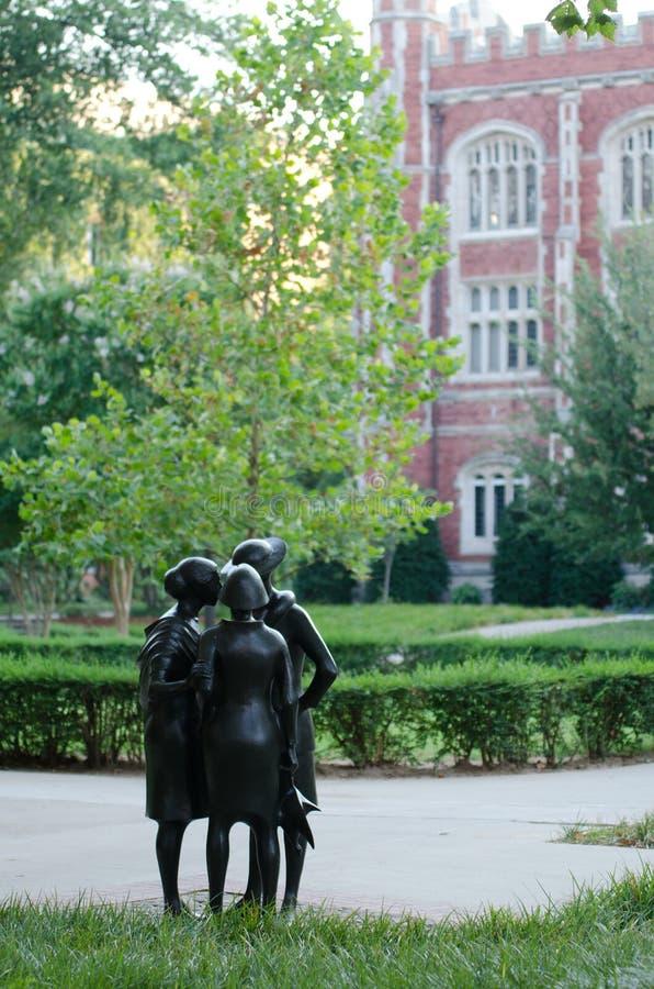 Universitet av den Oklahoma universitetsområdet royaltyfria bilder