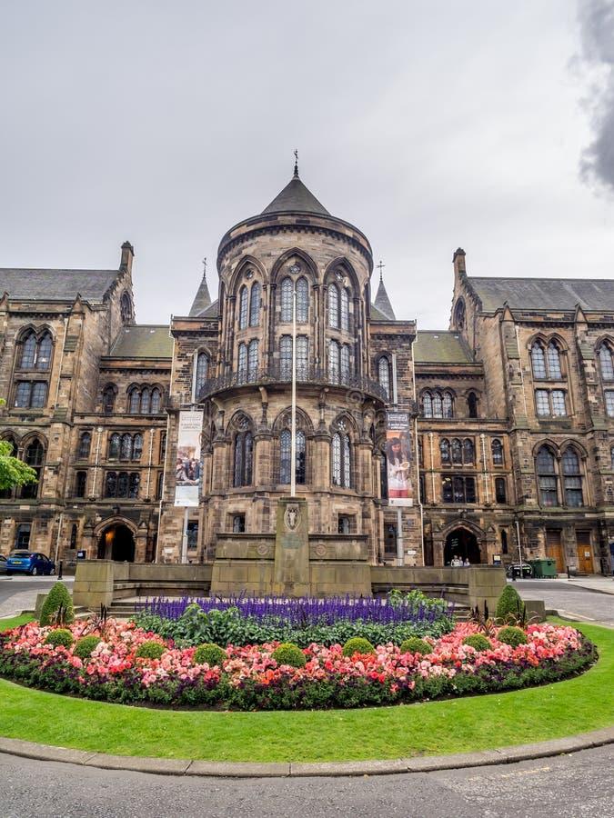 Universitet av Glasgow royaltyfri fotografi