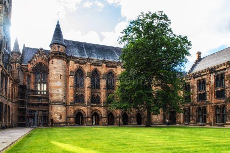 Universitet av Glasgow, Skottland fotografering för bildbyråer