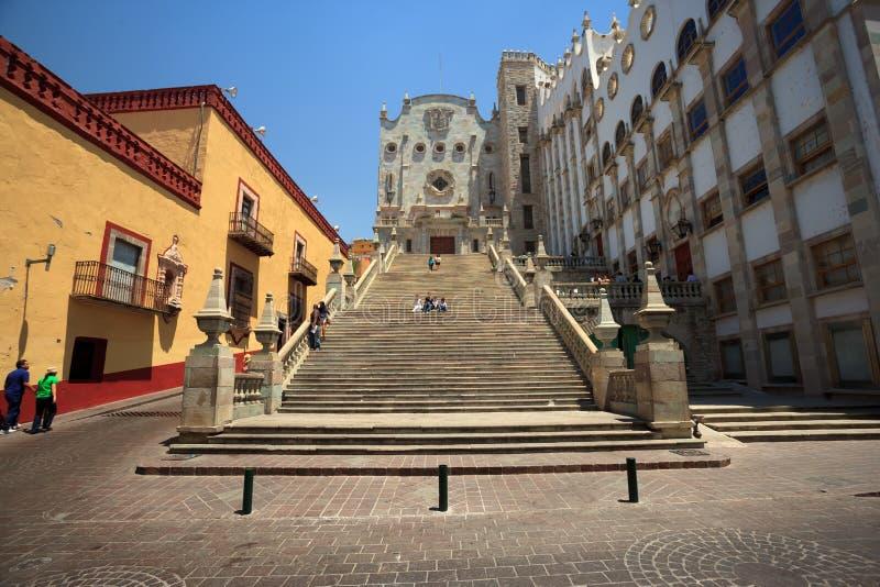 Universitet av Guanajuato arkivbild
