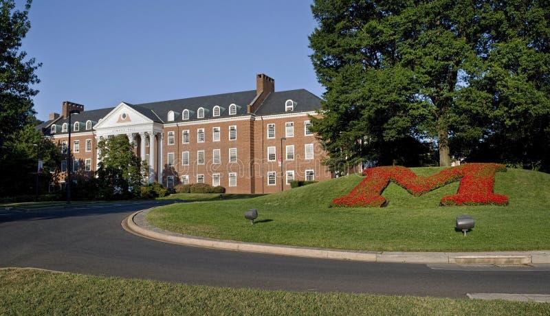 Universitet av Maryland royaltyfri bild