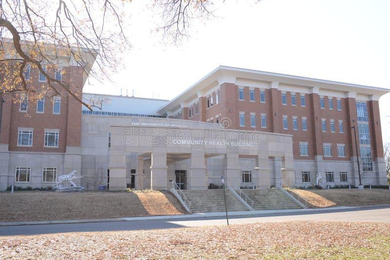 Universitet av Memphis, gemenskap vård- mitt royaltyfri fotografi