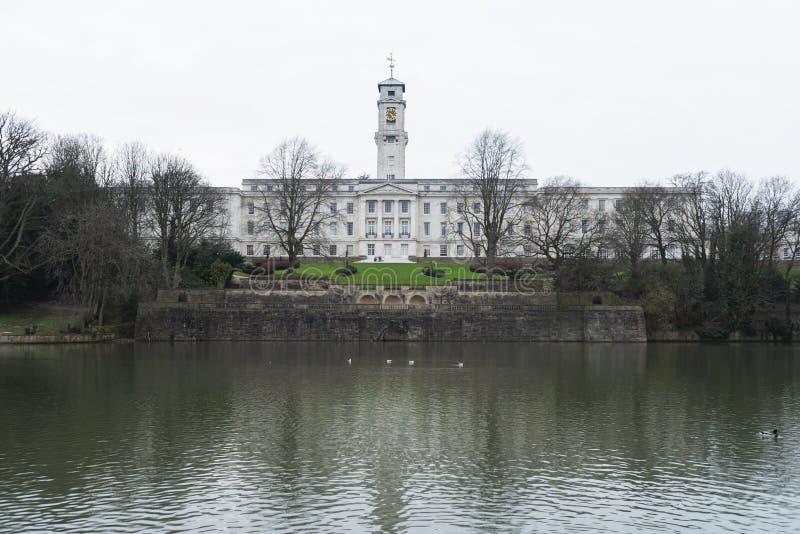 Universitet av Nottingham royaltyfri fotografi