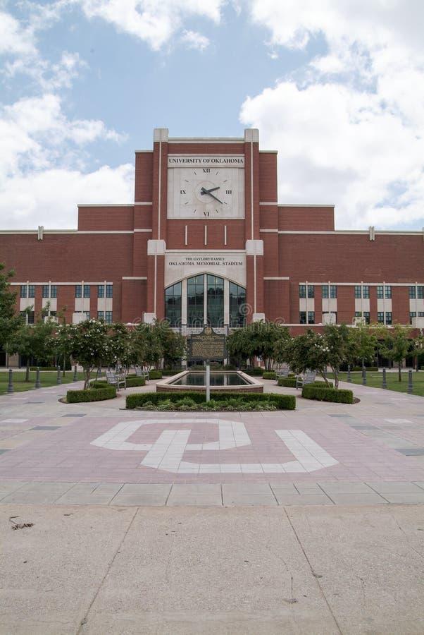 Universitet av Oklahoma fotbollsarena arkivfoton