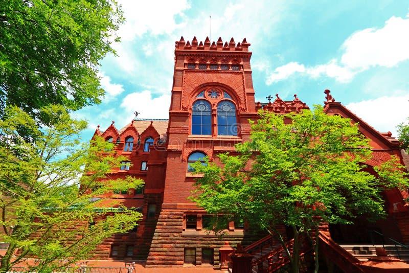 Universitet av Pennsylvania Fisher Fine Arts Library royaltyfria foton