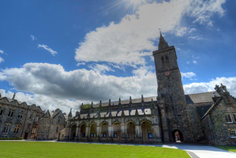 Universitet av St Andrews arkivbilder