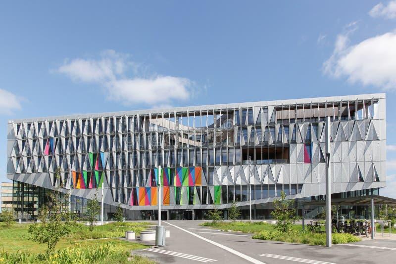 Universitet av sydliga Danmark i Kolding royaltyfria foton