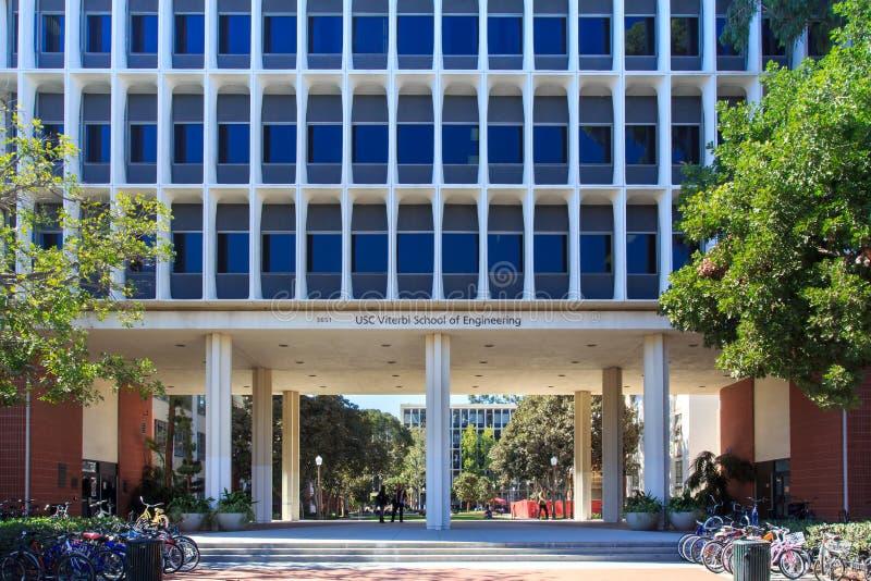 Universitet av sydliga Kalifornien royaltyfria bilder