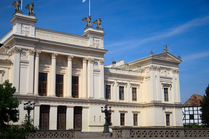 Universitet i Lund royaltyfria foton