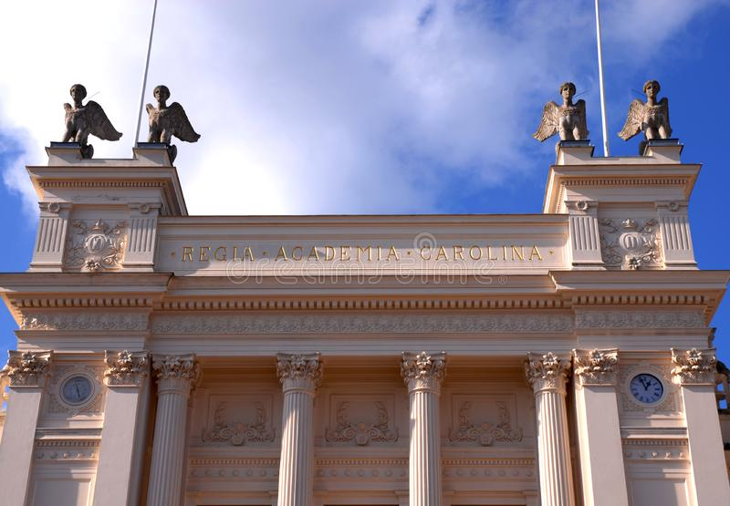 Universitetar royaltyfria bilder