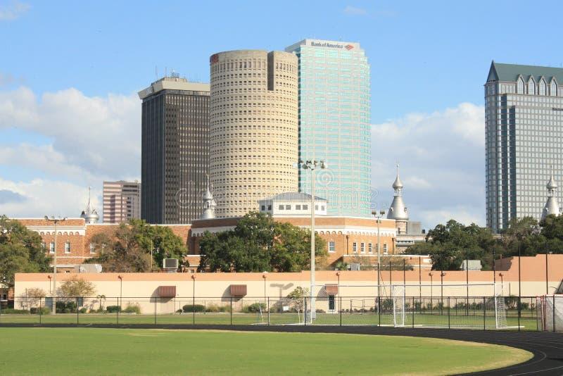 Universitetar av Tampa royaltyfri bild