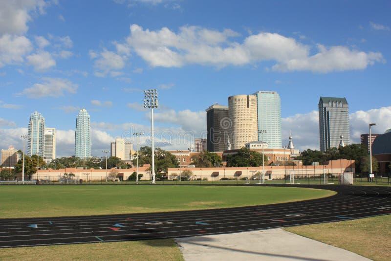 Universitetar av Tampa royaltyfria bilder