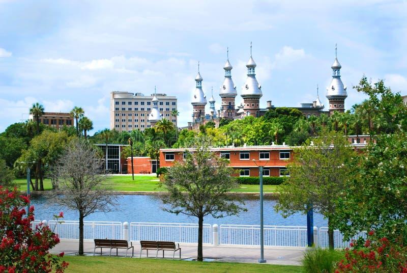 Universitetar av Tampa fotografering för bildbyråer