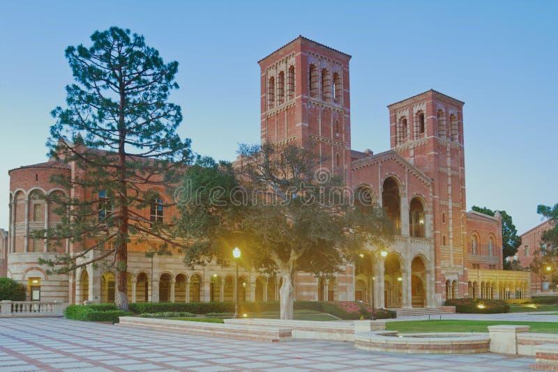 universitetar för angeles Kalifornien universitetsområdelos arkivbild