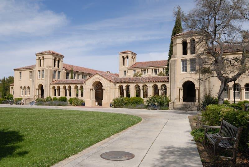 universitetar för korridorstanford toyon royaltyfri bild