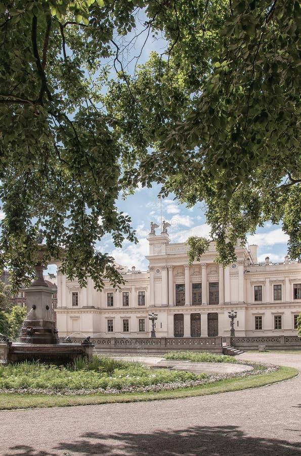 Universitetar i Lund arkivbild