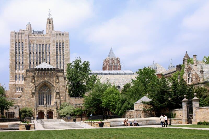 universitetar yale arkivbilder
