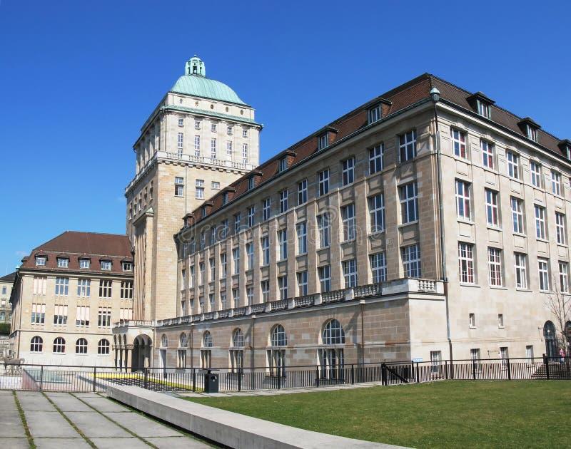universitetar zurich royaltyfria foton