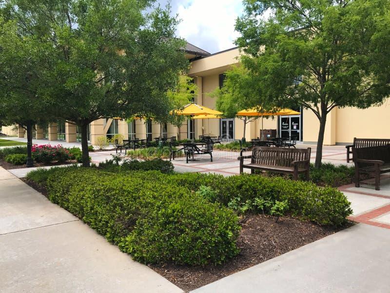 Universitetsområde av Charleston Southern University royaltyfri fotografi