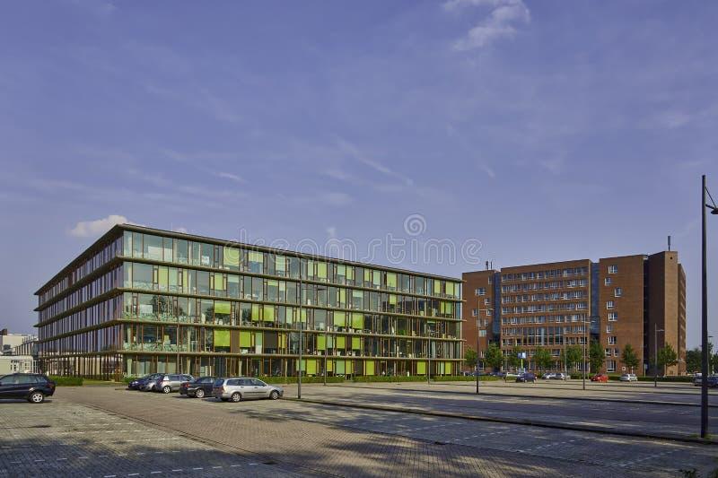 Universitetsområde Wageningen UR arkivbilder