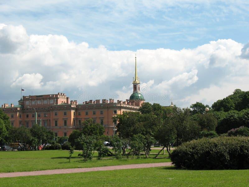 universitetsområdemartiuspetersburg st royaltyfri foto