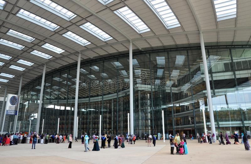Universiti Teknologi Petronas, Perak Malesia fotografia stock