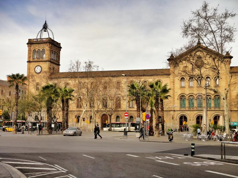 The University of Barcelona stock images