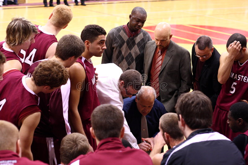 University basketball stock photo