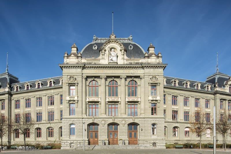 University of Bern facade stock image