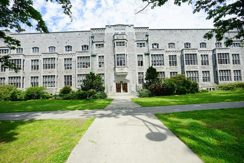 University of British Columbia UBC. VANCOUVER, CA -Located on a beautiful peninsula at Point Grey, the University of British Columbia UBC is a major public royalty free stock image