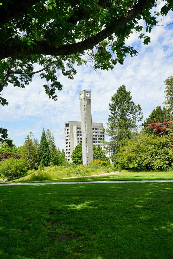 University of British Columbia UBC. VANCOUVER, CA -Located on a beautiful peninsula at Point Grey, the University of British Columbia UBC is a major public stock image