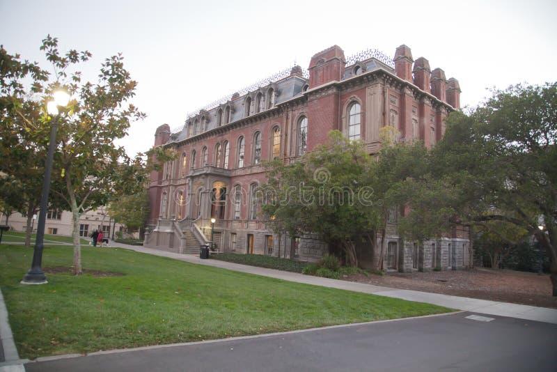 University of California in Berkeley stock photo