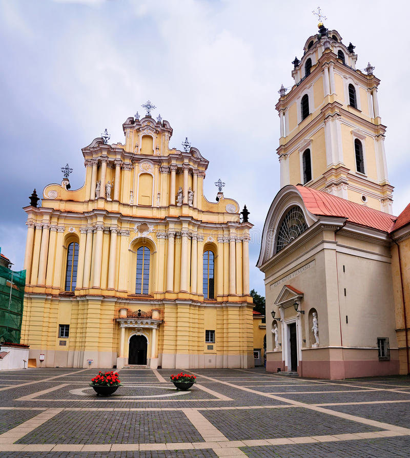 Free University Church, Vilnius Stock Images - 20992324