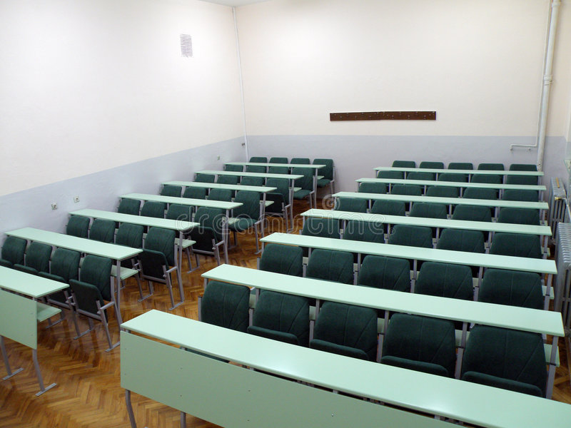 University classroom stock images