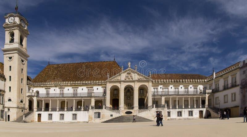 University of Coimbra Potugal royalty free stock photography