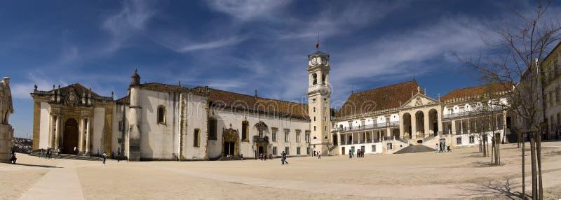 University of Coimbra Potugal stock photo