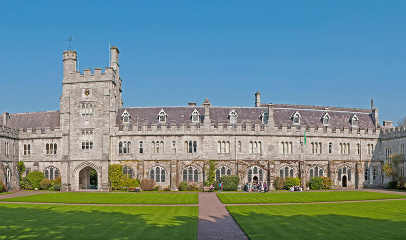 University College Cork royalty free stock photo