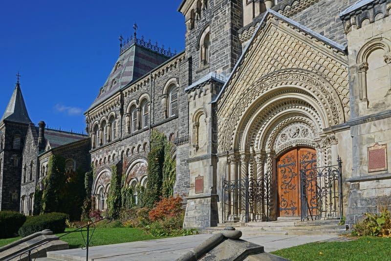 University College, las 1850 construcciones original de la universidad de Toronto, imagenes de archivo