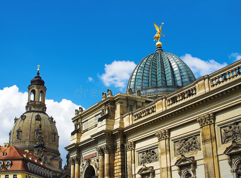 University of Dresden royalty free stock photography