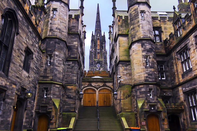 Download University of Edinburgh stock photo. Image of history - 23678656