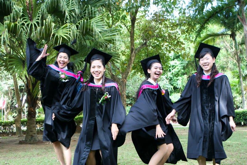 University graduates royalty free stock images