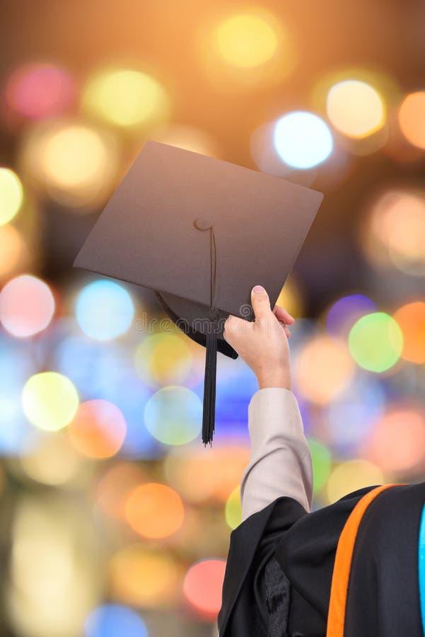 University graduates. On background,clipping path stock photo