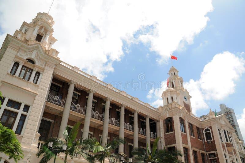 The University of Hong Kong stock photography