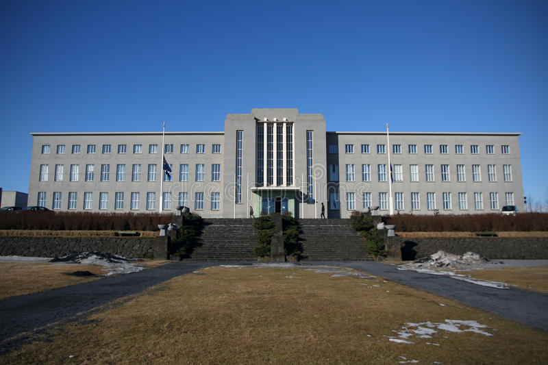 University of Iceland royalty free stock photography