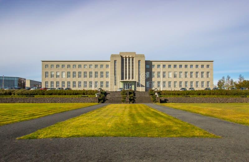 University of Iceland royalty free stock images