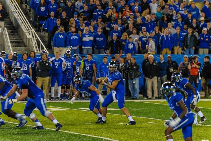 University of Kentucky Football stock images